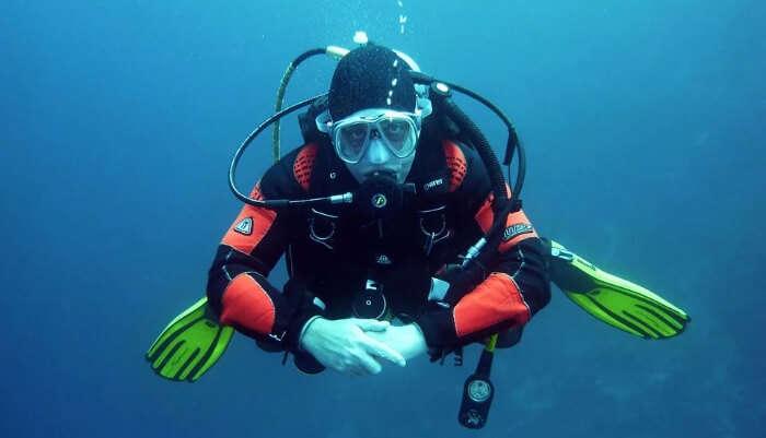 Scuba Diving Enjoyment