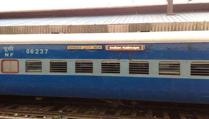 Sikkim Mahananda Express