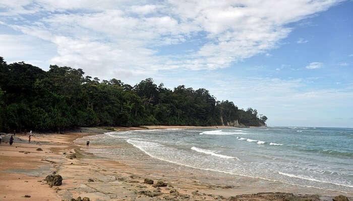 Beautiful beachside at Andaman