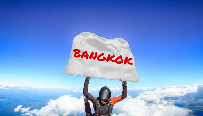 Skydiving In Bangkok