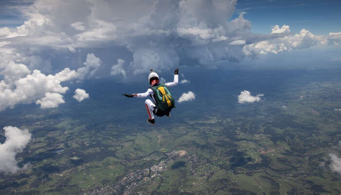 Skydiving In Sydney_