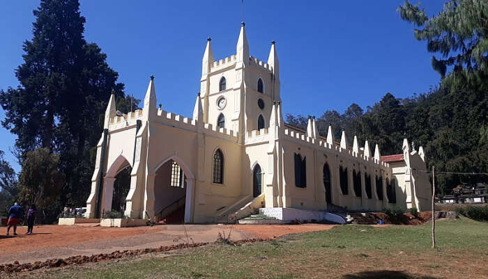 Famous Church in Ooty