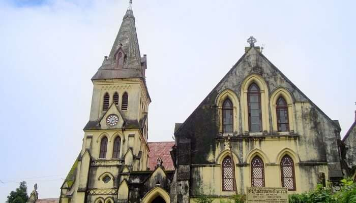 church in Darjeeling