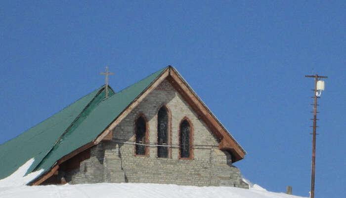 St. Mary's Church in Gulmarg