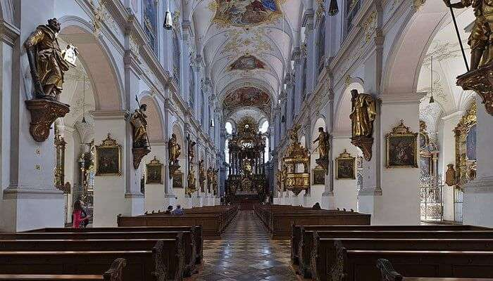 oldest catholic churches in Munich