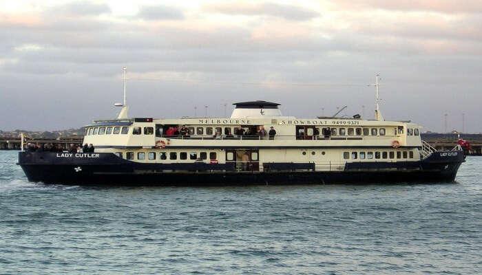 The Lady Cutler Melbourne Showboat