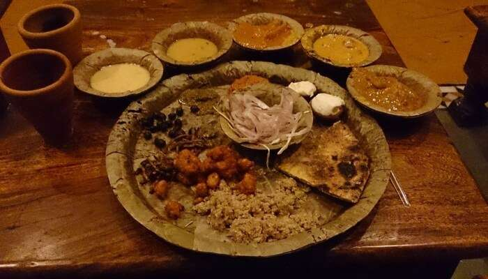 Try out Rajasthani Food