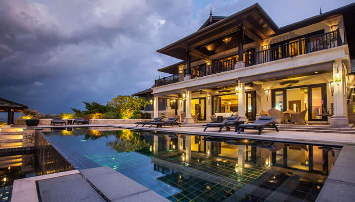 beautiful villa