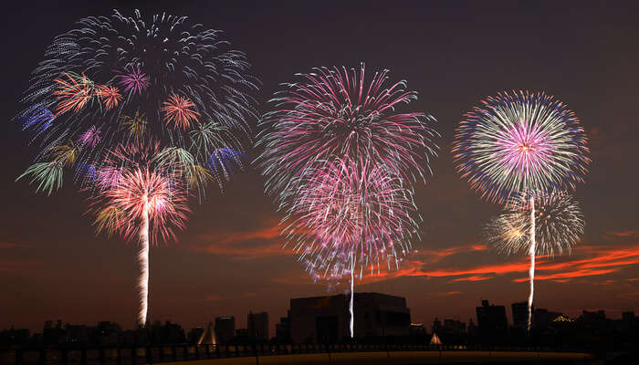 Watch The Sumidagawa Fireworks