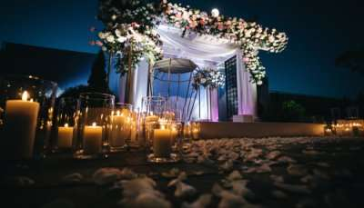 beautiful wedding hall