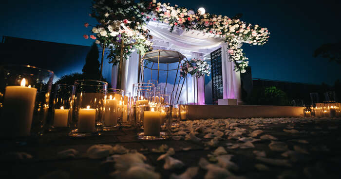 beautiful wedding hall