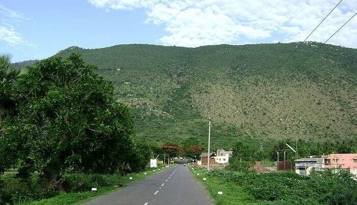 way to yelagiri hill