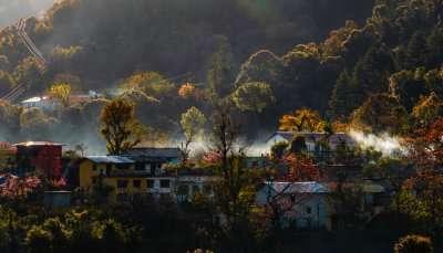homes near hills