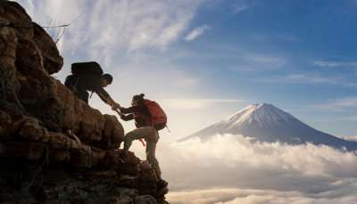 mountaineering in japan