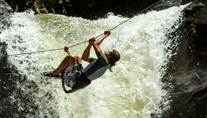 Canyoning in Goa
