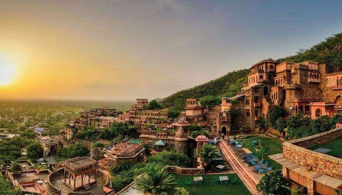 Best resorts near alwar