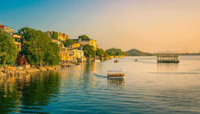 Scenic View of rajasthan