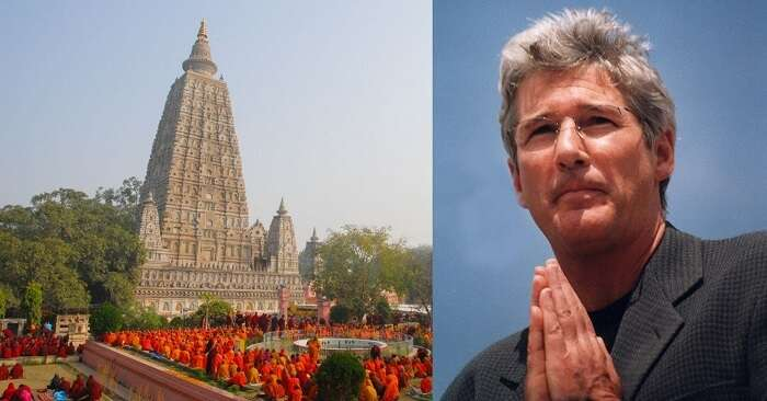 richard gere comes to india