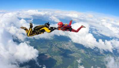 best skydiving