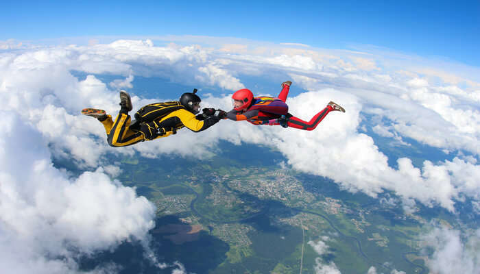 best skydiving