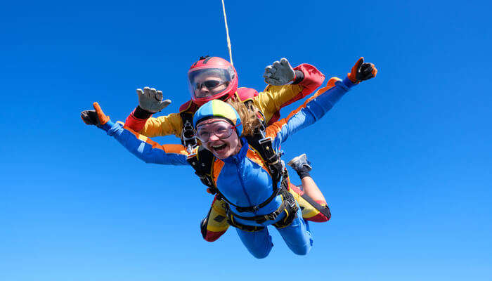 Age And Weight Limit For Skydive In Tasmania