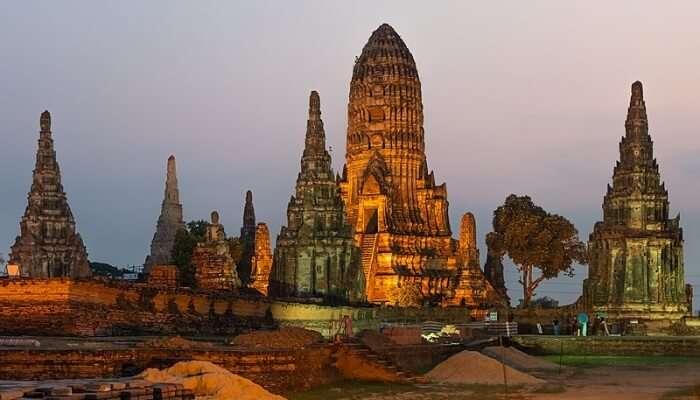 Wat Chai Watthanaram, Ayutthaya, Thailand
