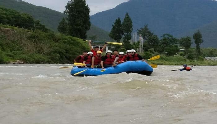 River Rafting In Pahalgam