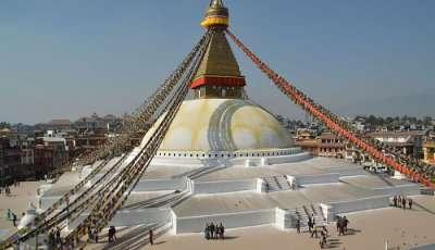 Bodhanath Stupa in Nepal