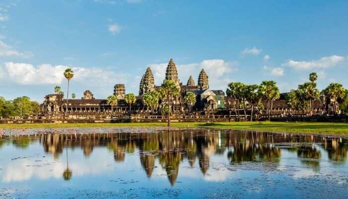 Cambodia in October