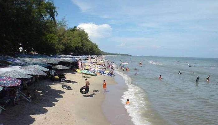 Cha-Am Beach in Bangkok