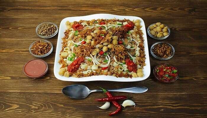 enjoy the feast on New Year