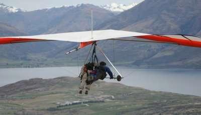 Adventurous Hang Gliding in New Zealand