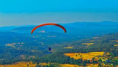 Adventurous Hang gliding in India