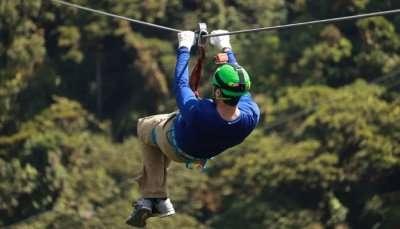 Adventurous Ziplining in Mauritius