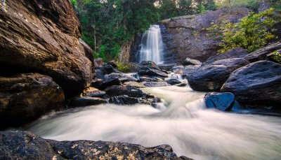 waterfalls near Wayanad