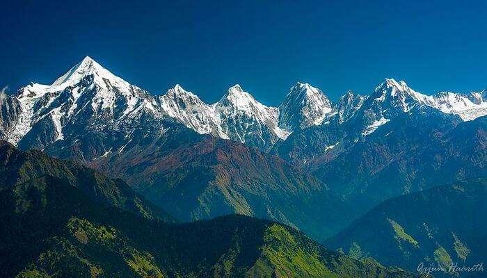lovely glimpse of the Kailash peak