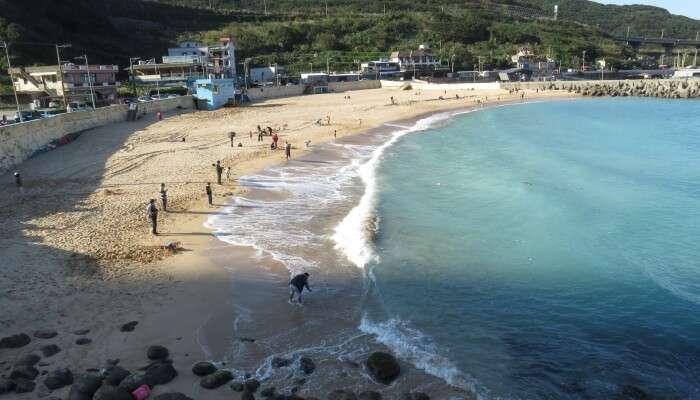 Dawulun Lovers' Beach is the best beach