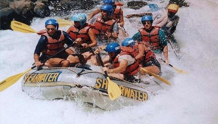 Enjoy White Water Rafting