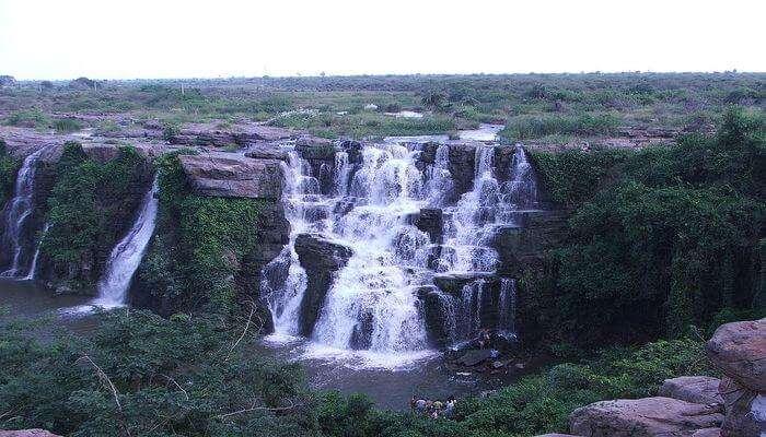 Ethipothala Waterfalls