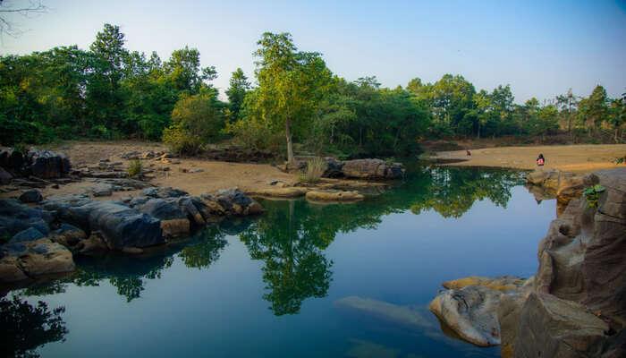Ghagra Waterfalls