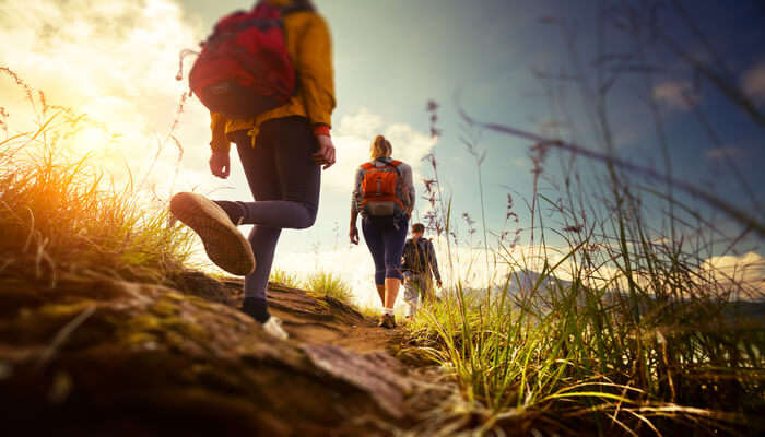 Hiking And Climbing