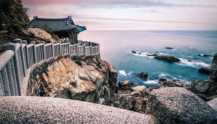 surreal view of the south korea