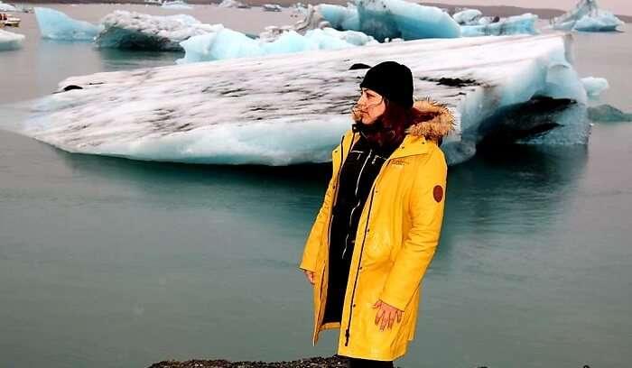 Jökulsárlón glacier lagoon_Iceland