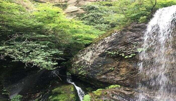 Jana Waterfall In Manali