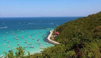 Koh Larn Beach in Bangkok