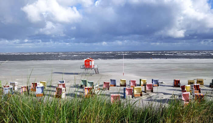 Langeoog Beach in Germany