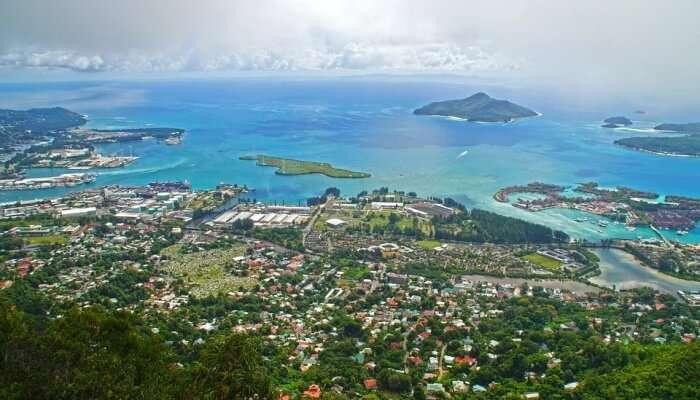 Itt is beautiful location in Seychelles