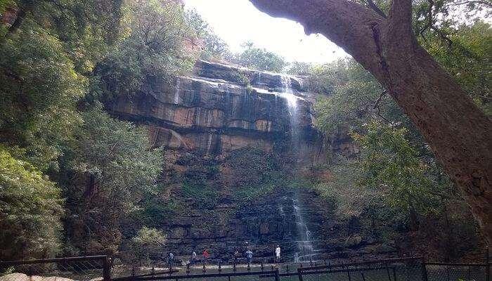 Mallela Theertham Falls