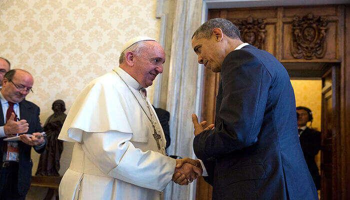 Meet The Pope in Vatican