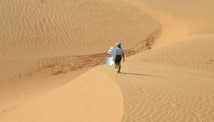 Mui Ne is dry and humid